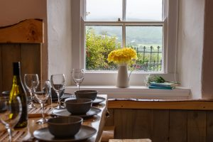 Kitchen Table in The Old Farmhouse