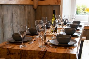 Informal Dining in The Old Farmhouse Kitchen